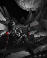 Mass Effect. Commander Shepard by maruhana-bachi
