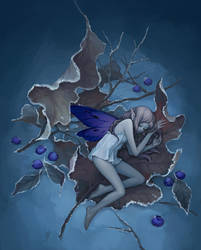 Blueberry by maruhana-bachi