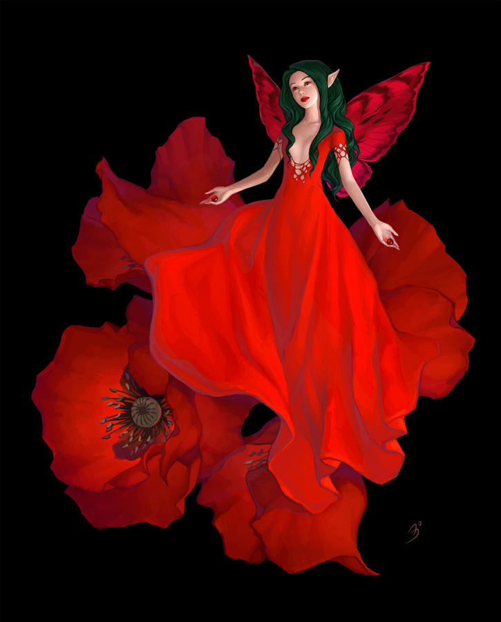 Poppy by maruhana-bachi