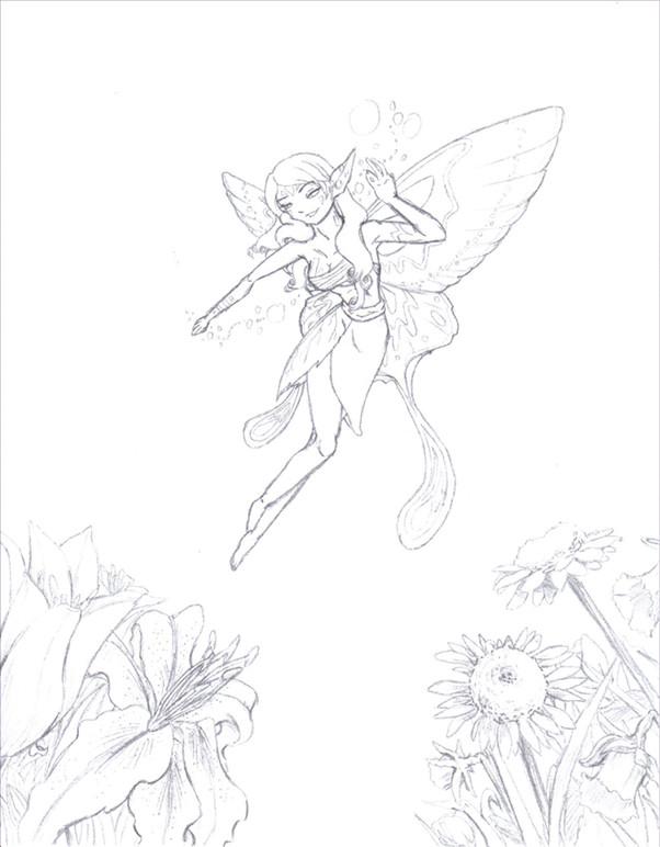 Fairy by WrenShimmamora