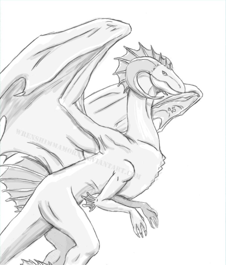 Dragon1 by WrenShimmamora