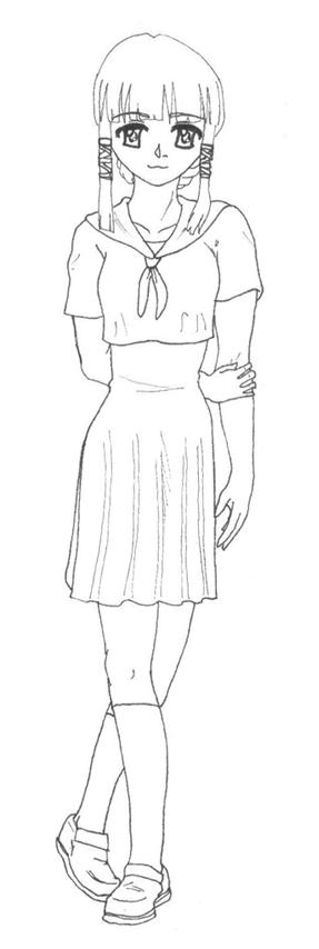 New OC Girl by WrenShimmamora