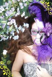 Purple Mask by WrenShimmamora