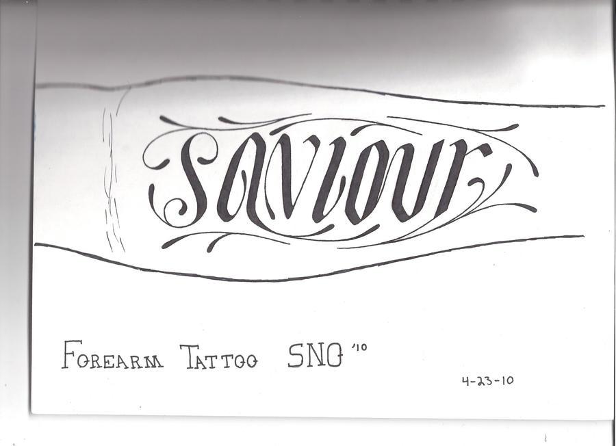 Heavy Hitter Tattoo Design