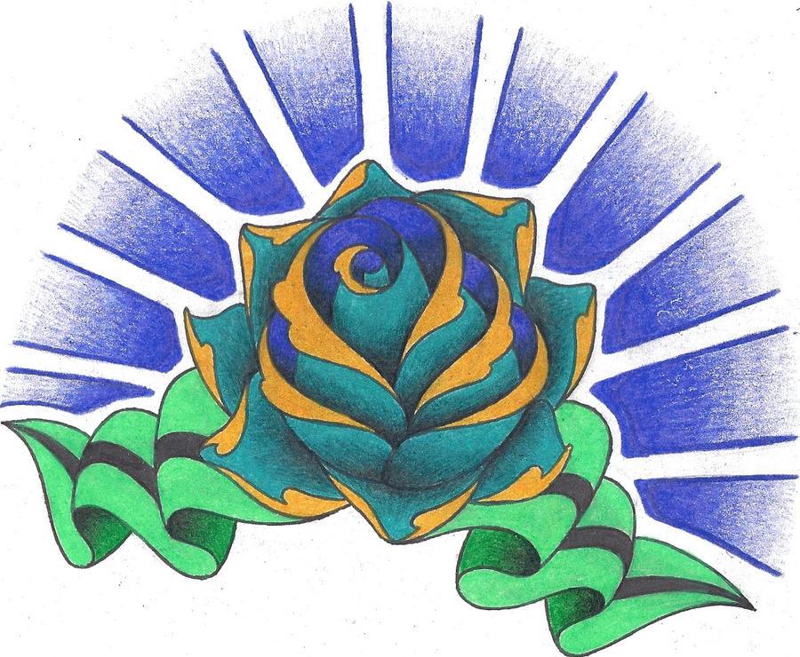 Rose Shoulder Cap - shoulder tattoo