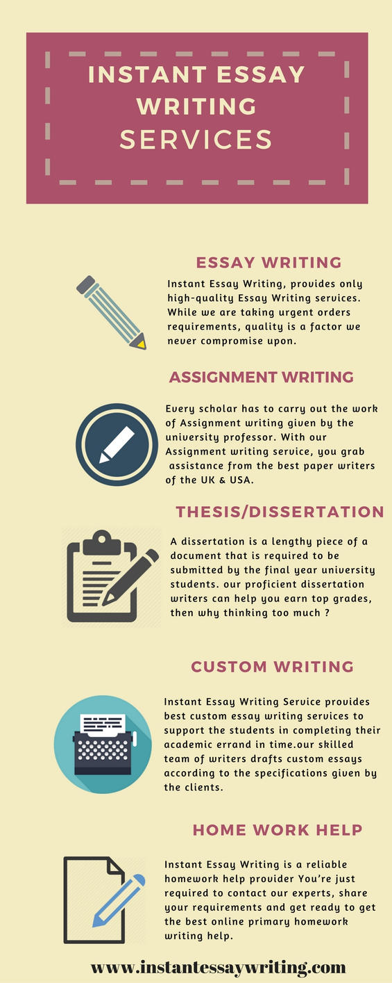 customm essay writng service