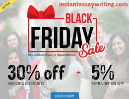 Exclusive Black Friday Deal - Get Up-to 35% OFF on
