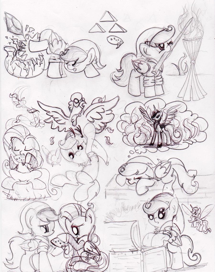 El rincón de una tal Deihiru - Página 2 The_legend_of_a_pony_princess_s_name_by_deihiru-d6d08vg