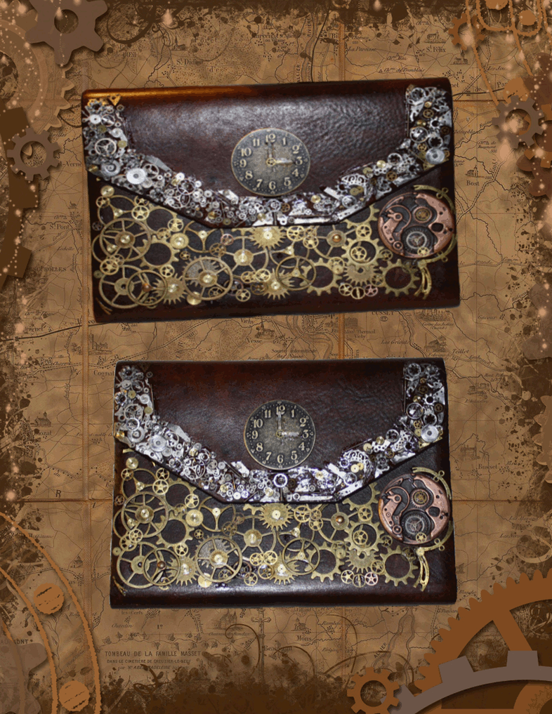 Steampunk journal by whimselp0ny on deviantart for Steampunk arts and crafts
