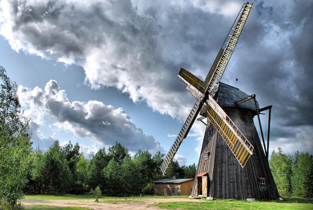 windmill by Trzynasty13