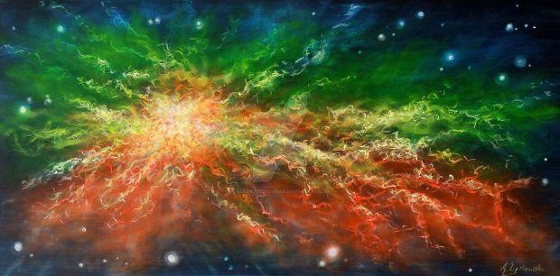 Nebula by agatazyczkowska