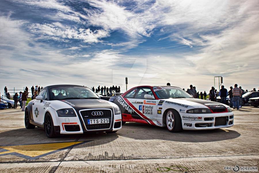 Audi Tt And Nissan Skyline Drift Cars By Ericscicluna On Deviantart