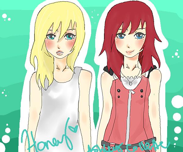 Namine+Kairi by AshleyTsukiyomi