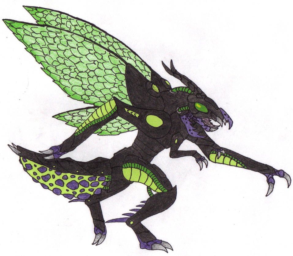 Redesign: Lightning Bug by DinoHunter2 on DeviantArt