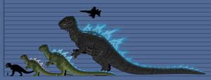 G1: Godzilla by DinoHunter2