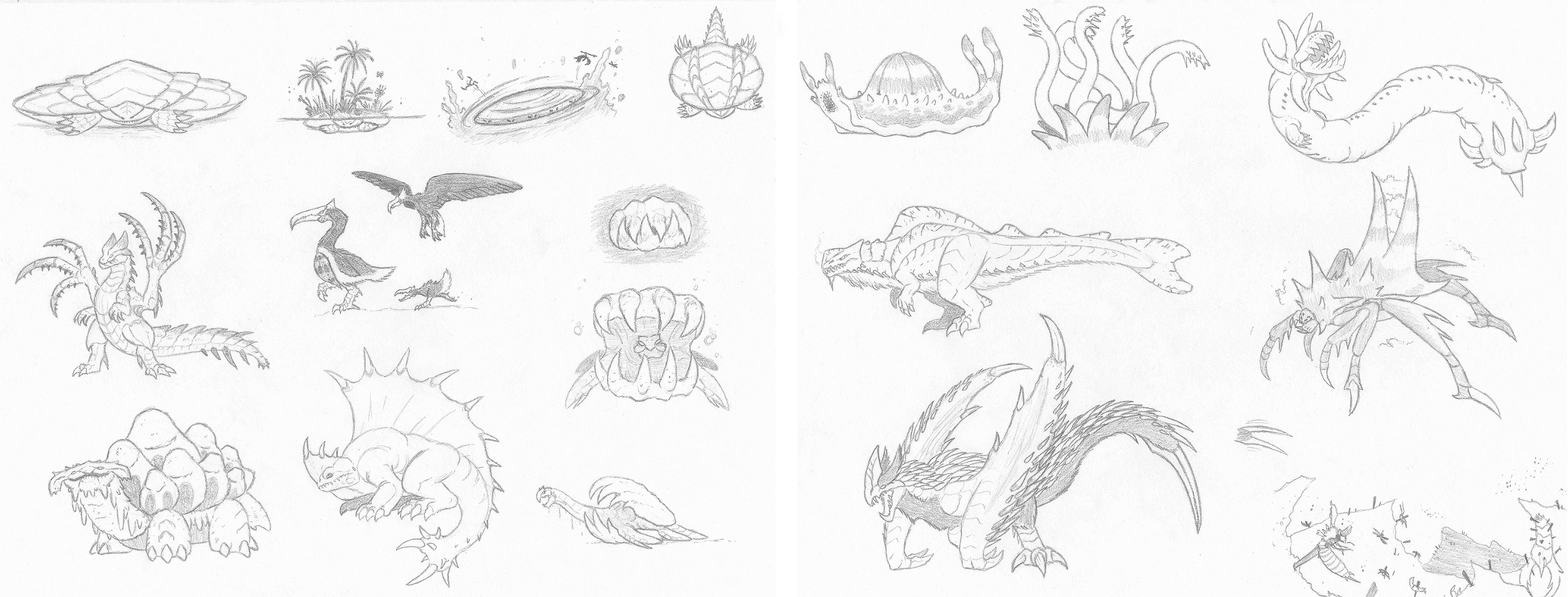 Monster Hunter Concepts: Ad Infinitum by DinoHunter2