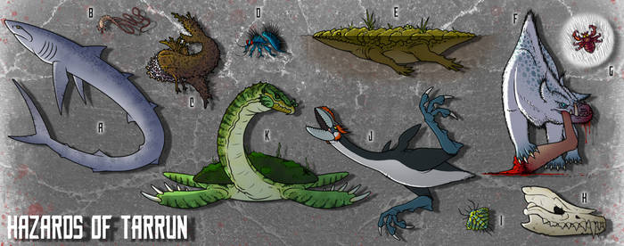Tarrun: Hazardous Fauna