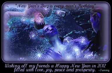 HAPPY NEW YEARS 2012 by RockerMissTammy