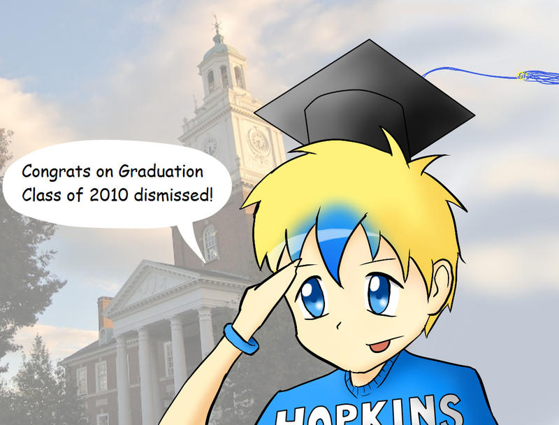 Congrats Class of 2010 by JHUCartoons