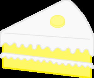 Slice of banana cake