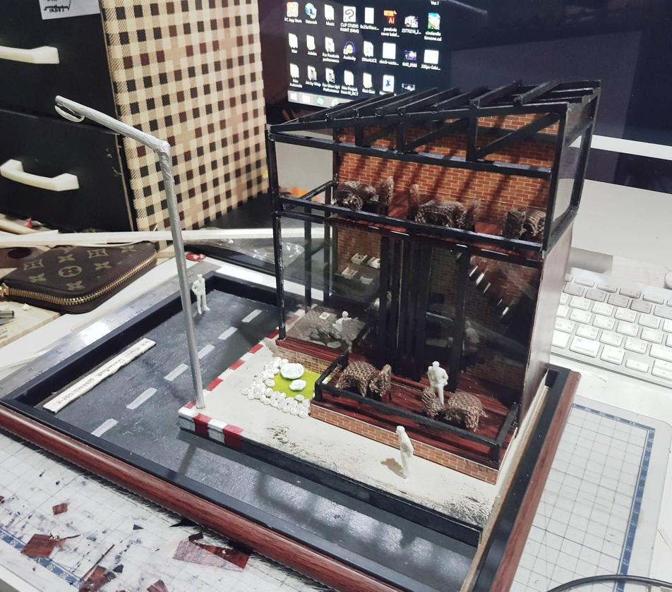 My first presentation model~~~ by JTenebiS
