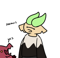 two memelords having a general discussion by FloomyLeEdgyWoomy