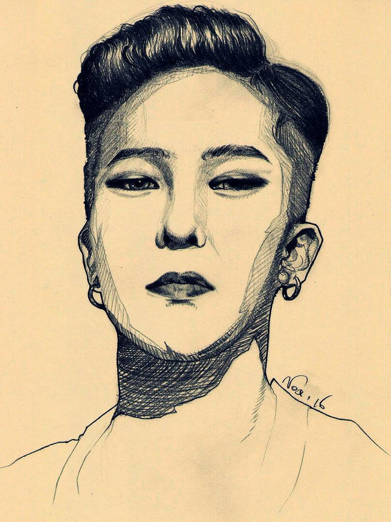 GD sketch by Marghe-chan