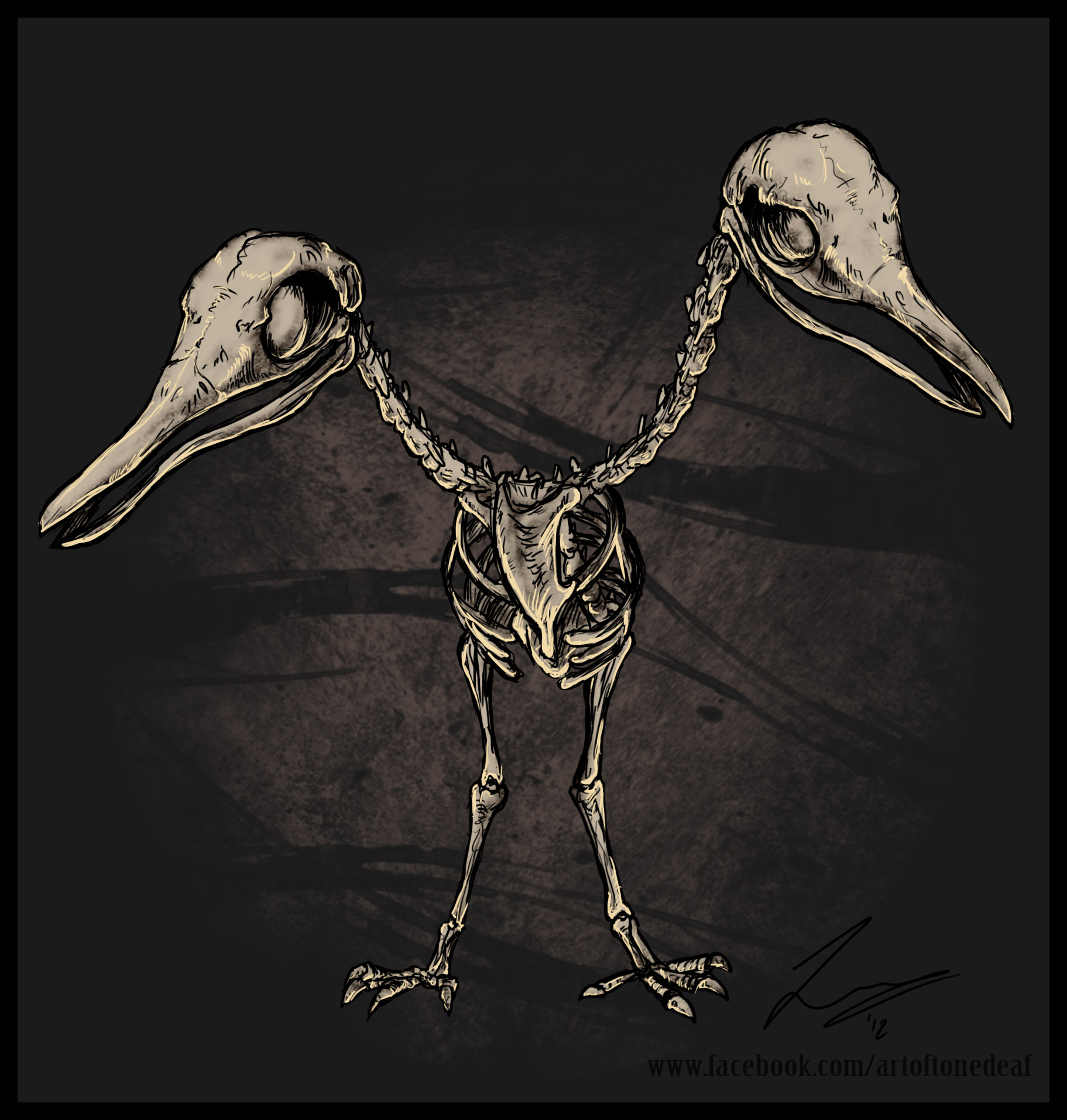 Doduo skeleton by acidic055