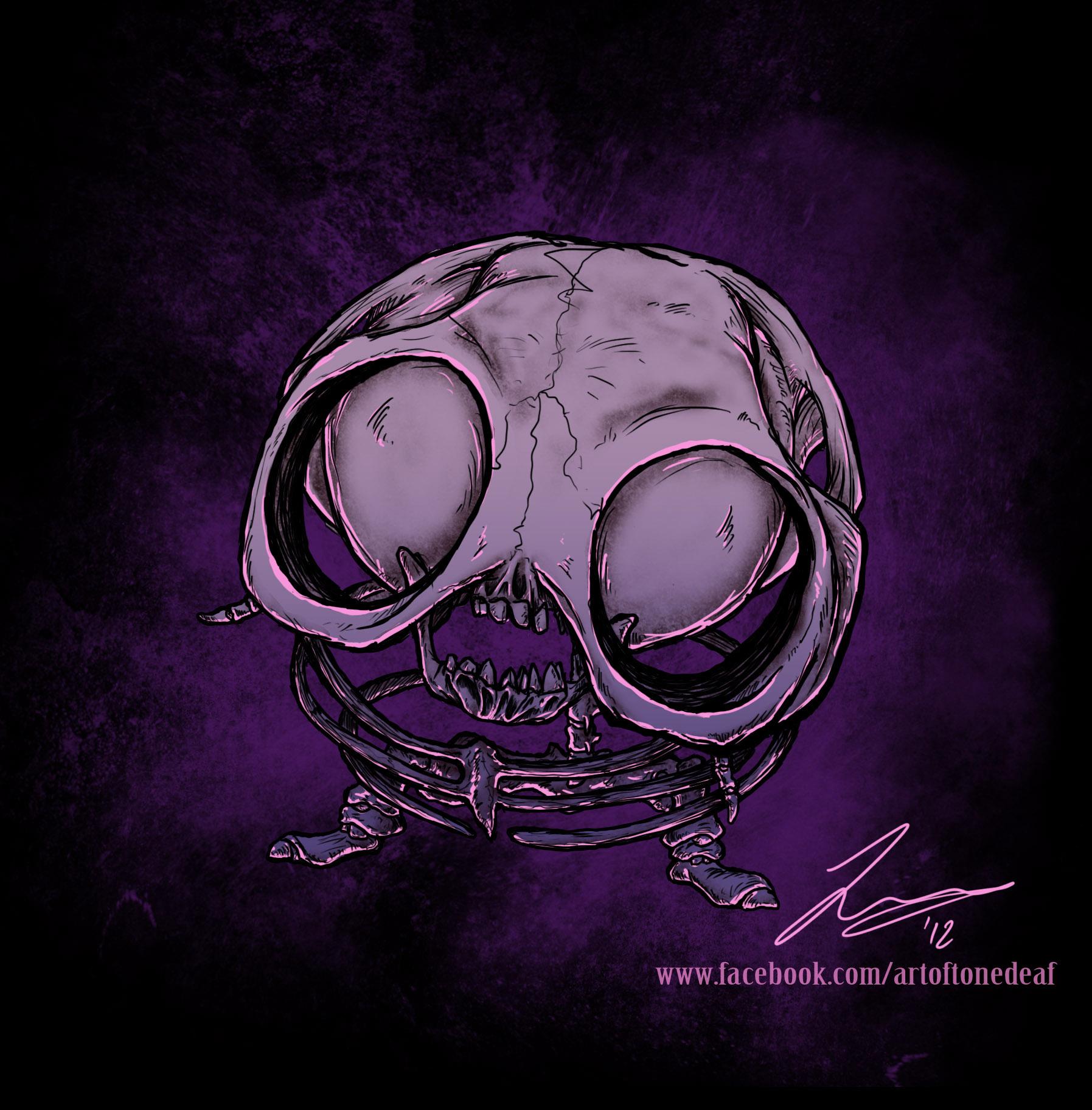 Jigglypuff Skeleton by acidic055