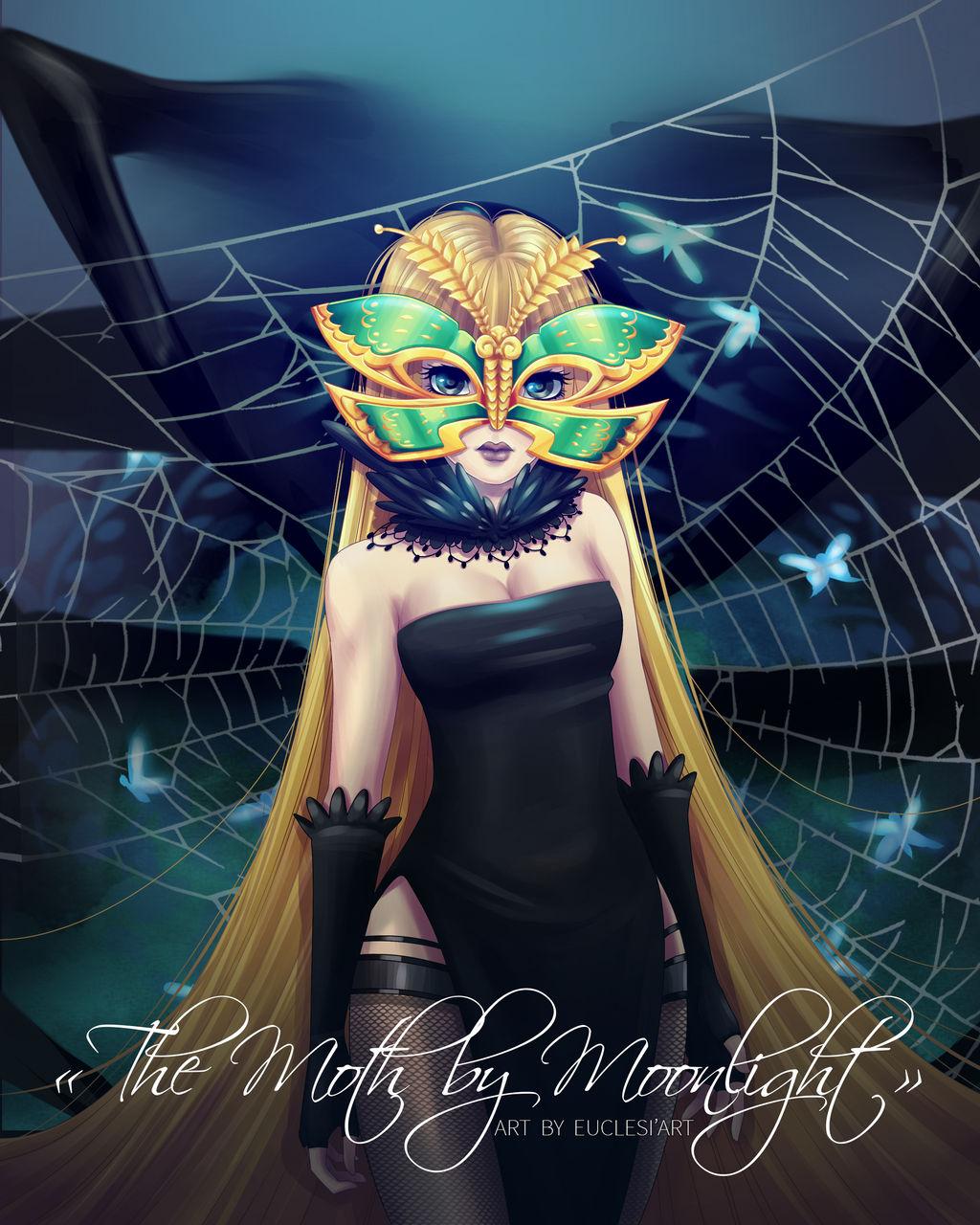 [Euclesiart] Trinity, the Moth by Moonlight