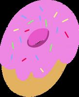 Donut Joe Cutie Mark Vector by Pablo09042