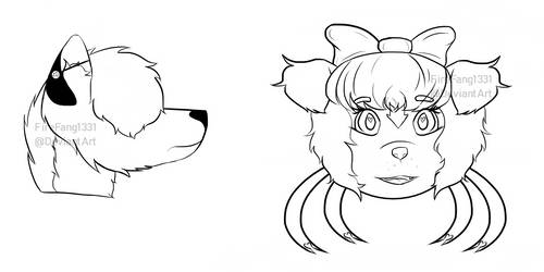 Facebook Headsketches #2 by FireFang1331