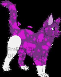 Lava Lamp Kitty Adopt OTA (OPEN) by FireFang1331