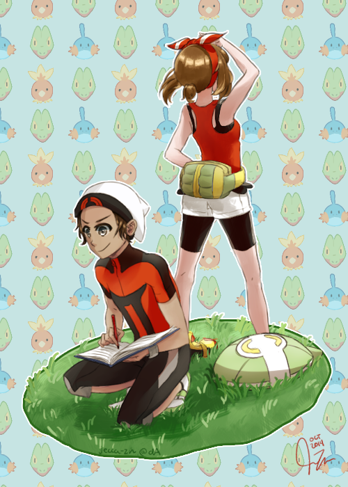 Pokemon ORAS! by jecca-zn