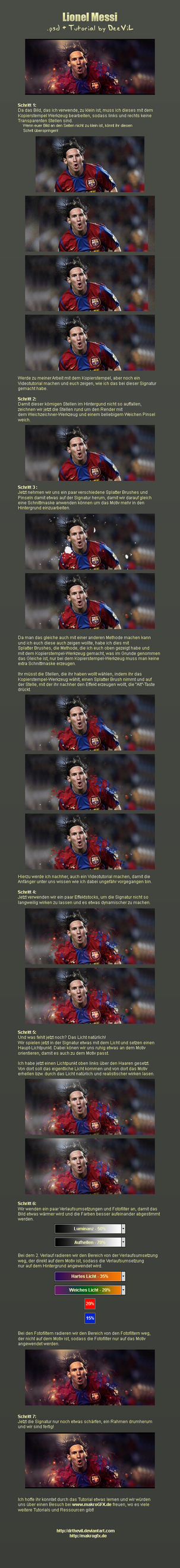 Lionel Messi - Sig. Tutorial by DrTheviL