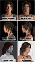 Lara Croft - TressFX hair