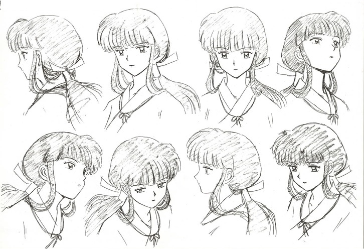 Kikyo Head Poses By Rosaliecapulet On Deviantart