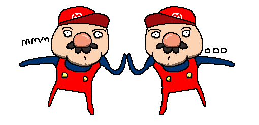 Mario touches himself by holyphat1