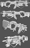 Chimera Bullseye Carbine by thefirewarriors