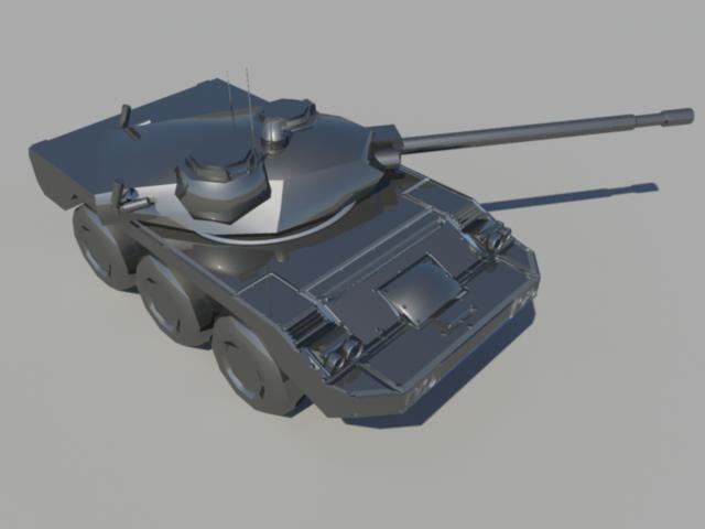 Killzone ISA Lancer Tank WIP by thefirewarriors