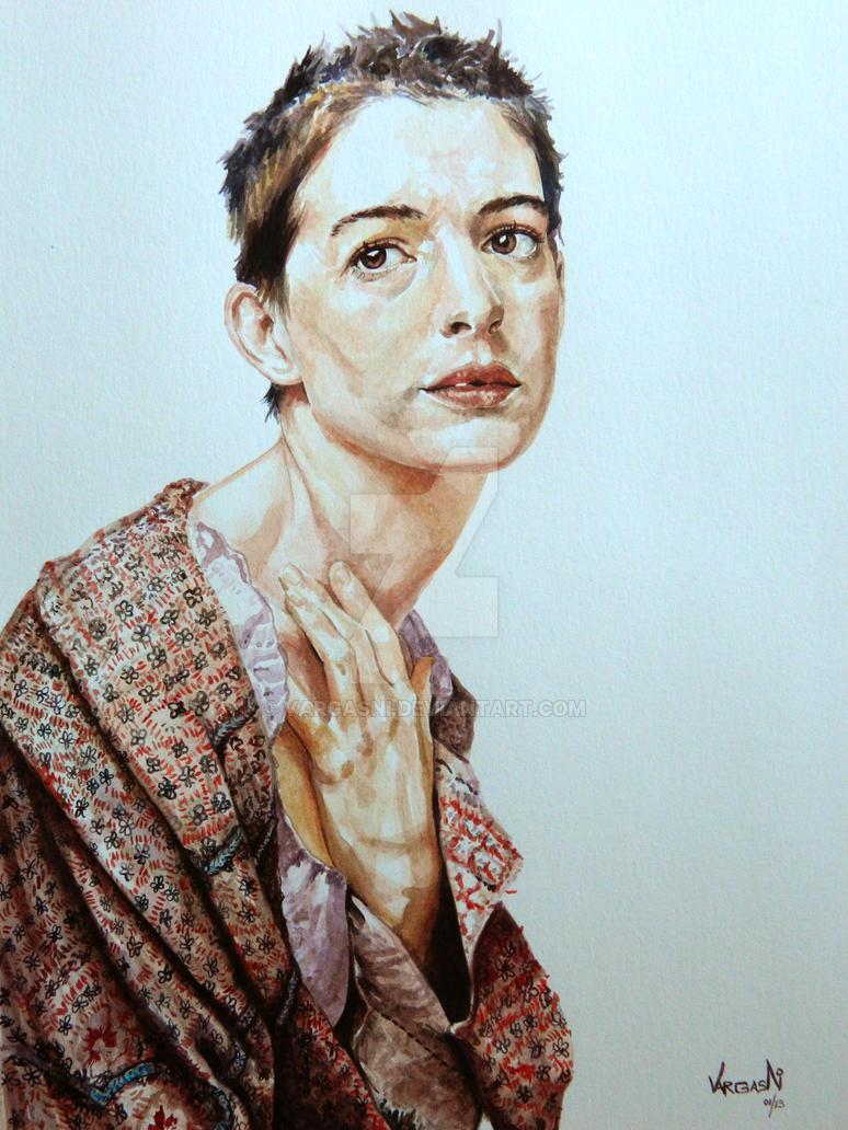 Anne Hathaway by VargasNi
