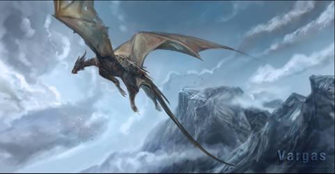 A dragon... by VargasNi