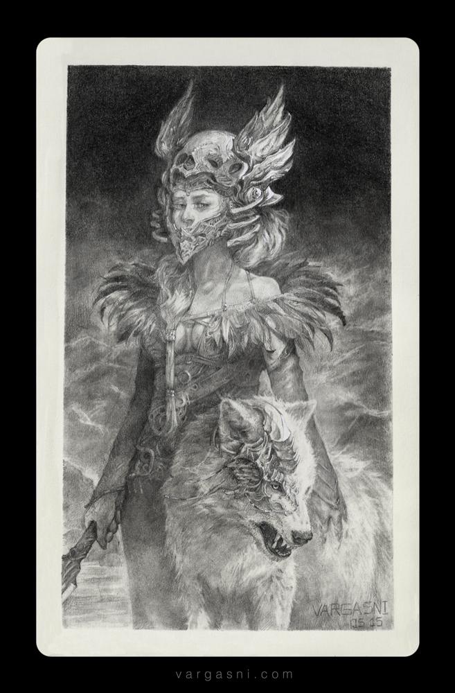 Witch warrior by VargasNi