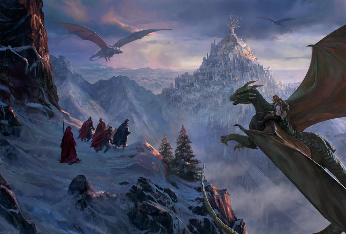 The ascending by VargasNi
