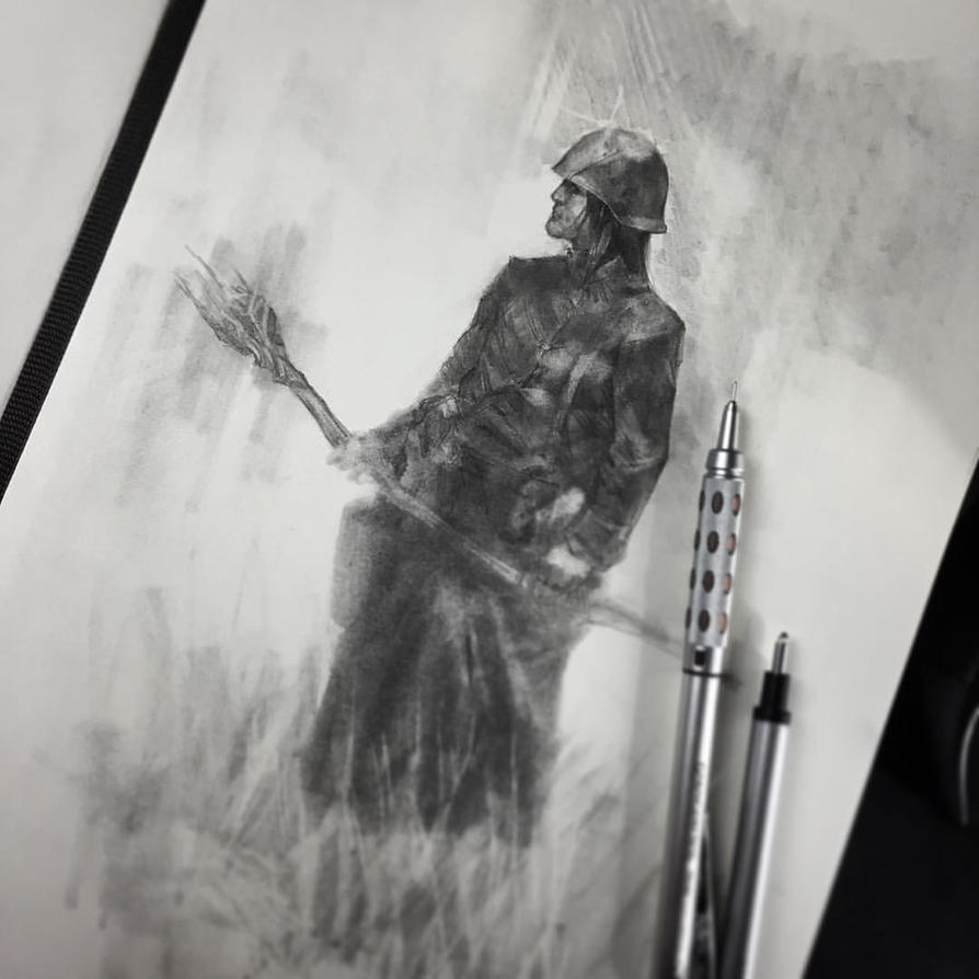 sketch time lapse by VargasNi