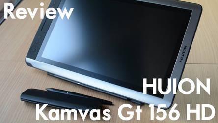 HUION Kamvas GT156 HD by VargasNi