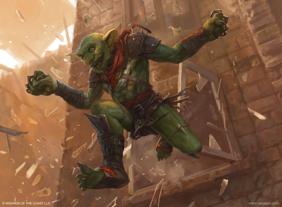 Frenzied Goblin by VargasNi