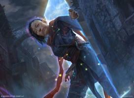 Tetsuko Umezawa, the Fugitive by VargasNi