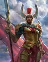 Legion Commander by VargasNi