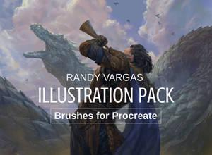 PROCREATE Brushes- Illustration Pack